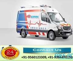 Take Prestigious Life-Saver Ambulance Service in Adarsh Nagar at Low-Cost