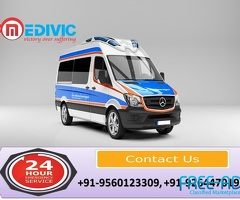 Use Full Hi-tech Life-Saver Ambulance Service in Bara Ghagra by Medivic