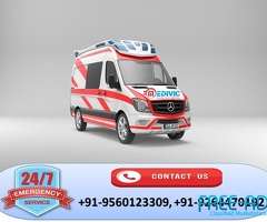 Book Low-Fare ICU Emergency Ambulance Service in Bhumiartoli by Medivic