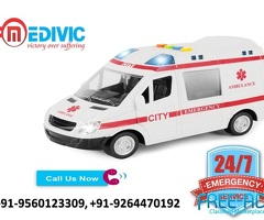 Get Excellent ICU Medical Care by Medivic Ambulance Service in Darbhanga