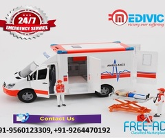 Utilize Top-Grade Healthcare by Medivic Ambulance Service in Delhi