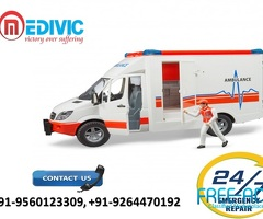 Take Awesome ICU Care by Medivic Ambulance Service in Muzaffarpur