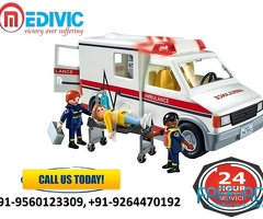 Select Top-Class Rescue by Medivic Ambulance Service in Patna