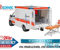 Book 24*7 Hours Full Hi-tech Emergency Ambulance Service in Varanasi