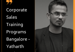 Corporate Sales Training Programs Chennai - Yatharth Marketing Solutions