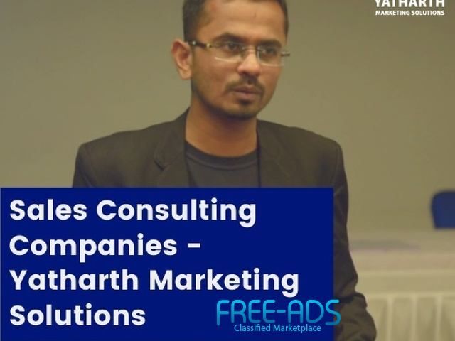Sales Consulting Companies - Yatharth Marketing Solutions