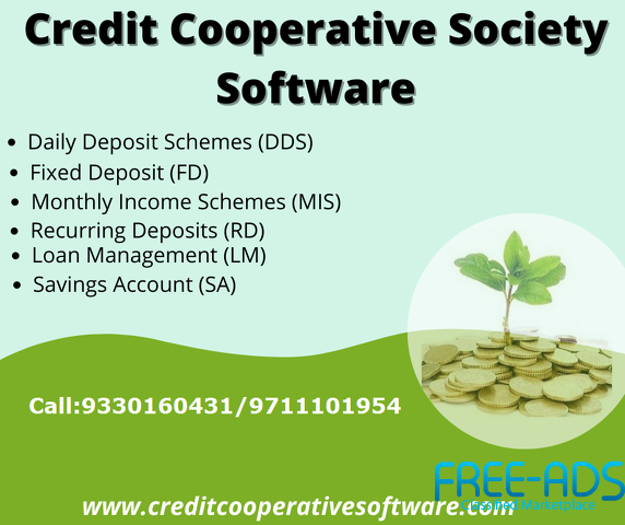 Advanced Cooperative Society Management Software in West Bengal