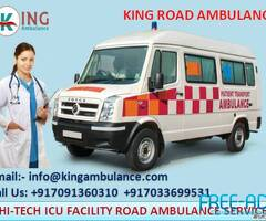 King Private Ambulance Service in Danapur with Top Medical Team