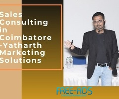 Sales Consulting in Coimbatore - Yatharth Marketing Solutions