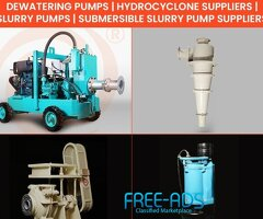 Slurry Pumps - Dewatering Pump Suppliers - TFT Pumps