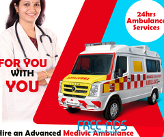 Affordable cost Ambulance service in Ranchi by Medivic