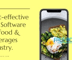 Affordable & Easy To Integrate ERP Food And Beverage Software