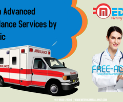 Bed to Bed Patients Transfer Ambulance Service in Patna by Medivic