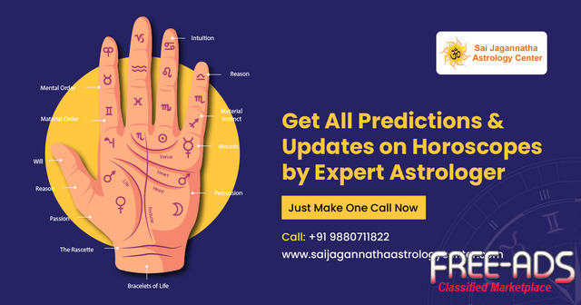 Best Astrologer in Bangalore – Horoscope Reader – Sai Jagannatha Astrology Center